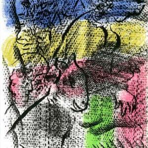 Marc Chagall Original Lithograph, XX Siecle 1970