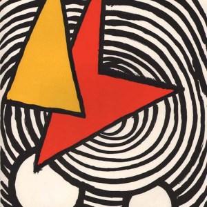 Calder Lithograph DM47201, Derriere le Miroir 1973