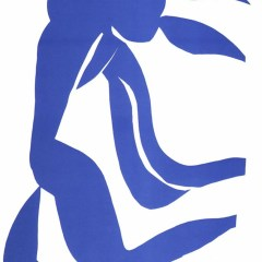 "Henri Matisse ""La chevelure"" printed in 1983"