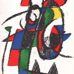 Miro Original Lithograph V2-2 by Mourlot 1975