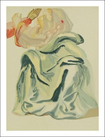 Salvador Dali Woodcut, To the Empyrean-Paradise 30