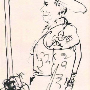 Pablo Picasso Toros Y Toreros 6 dated 12/7/59
