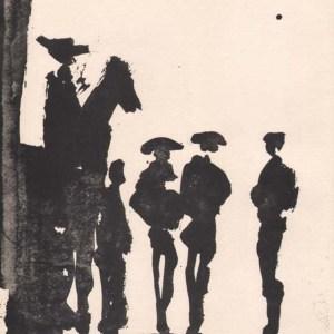 Picasso Toros y Toreros 6 dated 5/7/59