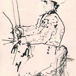Pablo Picasso Toros y Toreros 8 dated 13/7/59
