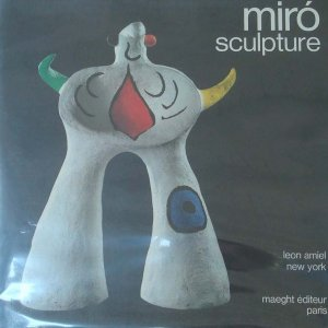 Book MIRO Sculptures 1974, includes 2 Lithographs