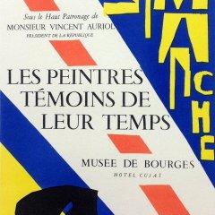 """Matisse 44 """"Les peintures temoins de leur temps"""" Art in posters Mourlot 1959"""