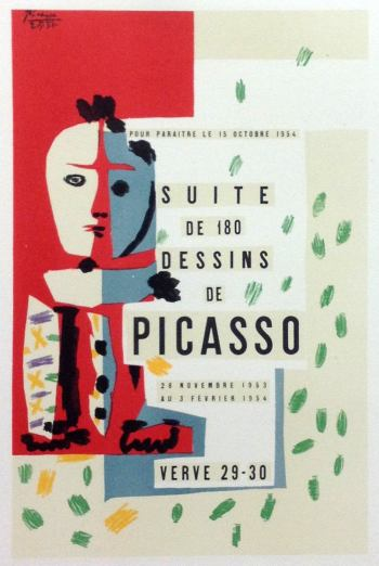 Picasso Lithograph 72, Suites, Art in posters