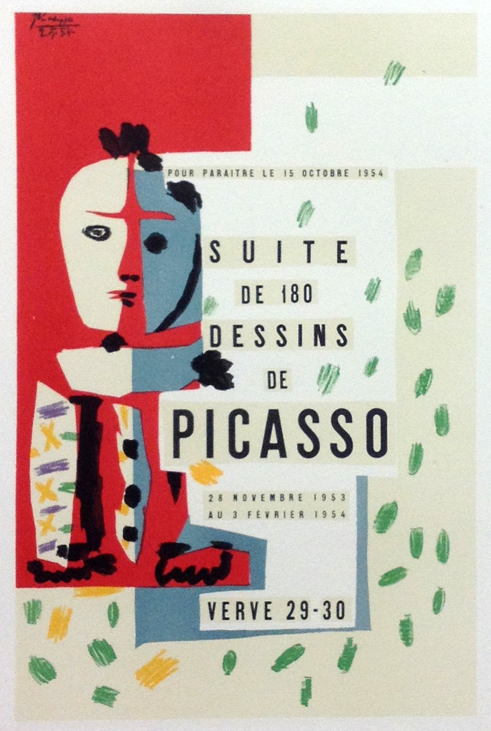Picasso 72 Lithograph 180 dessins-1959 Mourlot Art in posters