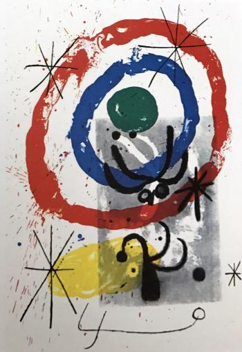 Joan Miro Original Lithograph DM05151, DLM 1970