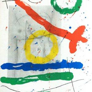 Joan Miro Original Lithograph DM08151, DLM 1970