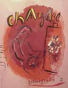 Book Chagall Lithograph vol 2,  contains+ 12 Lithographs
