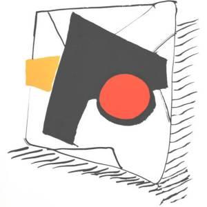 Calder Original Lithograph, DM16221, Derriere le Miroir 1975