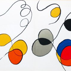 "Calder""DM54173"" Original Lithograph"