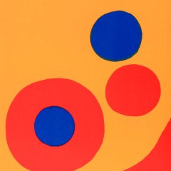 "Calder "" DM44201"" Original Lithograph 1973"