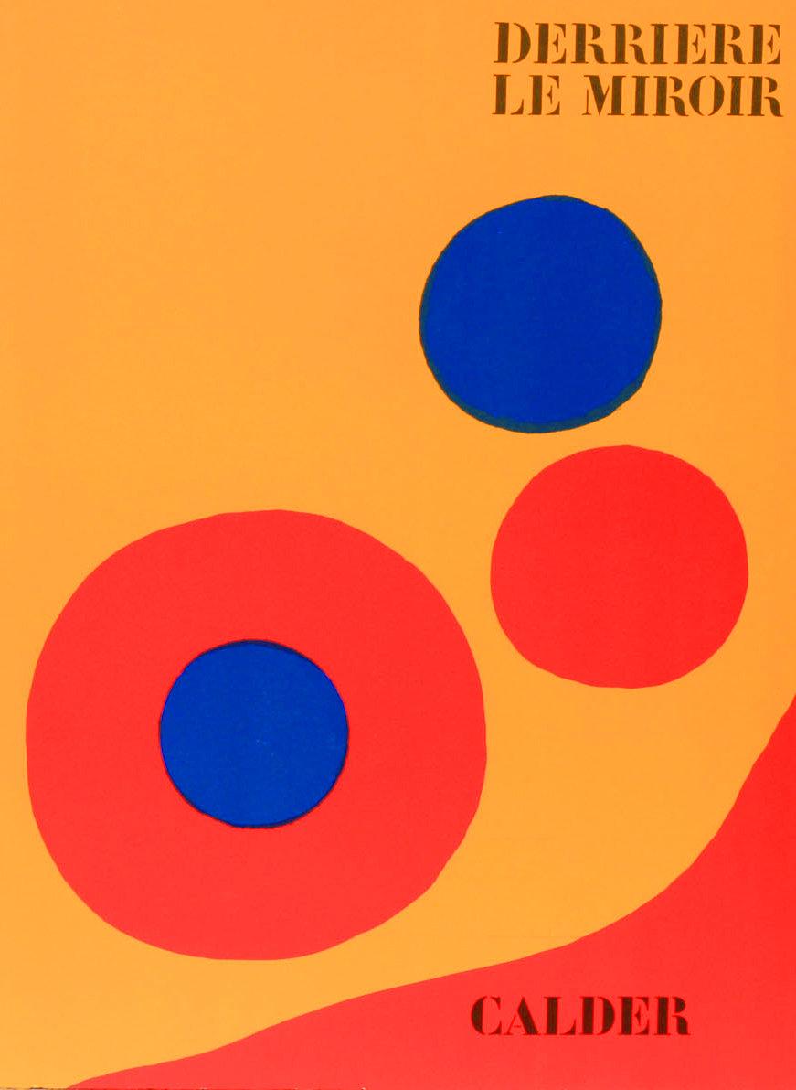 Alexander Calder, Original Lithograph, DM44201, Derriere le Miroir 1973
