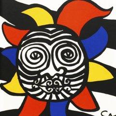 """Alexander Calder Original Lithograph""""DM37156″  printed 1966"""