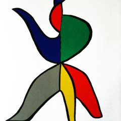 "Calder Original Lithograph ""DM01141"" printed 1963"