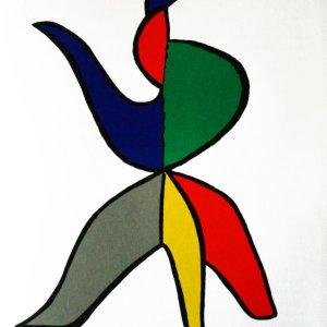 Calder, Original Lithograph, DM01141, Derriere le Miroir 1963