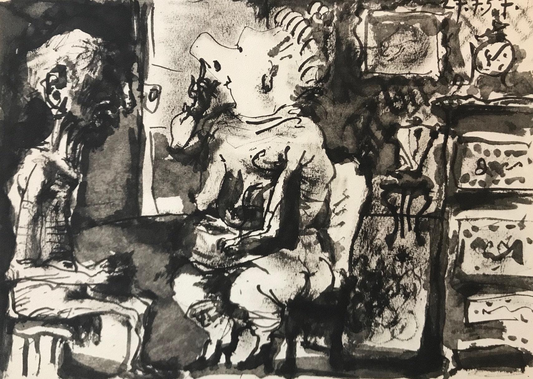 Picasso Toros Y Toreros, dated 27/7/59