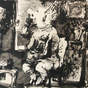 Picasso Toros Y Toreros dated 27/7/59