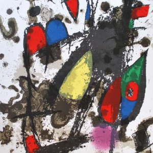 Joan Miro, Original Lithograph, vol 2c, Mourlot 1975