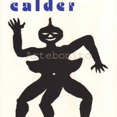 "Calder Original Lithograph ""DM15212"" Size 15 x 11 inch"