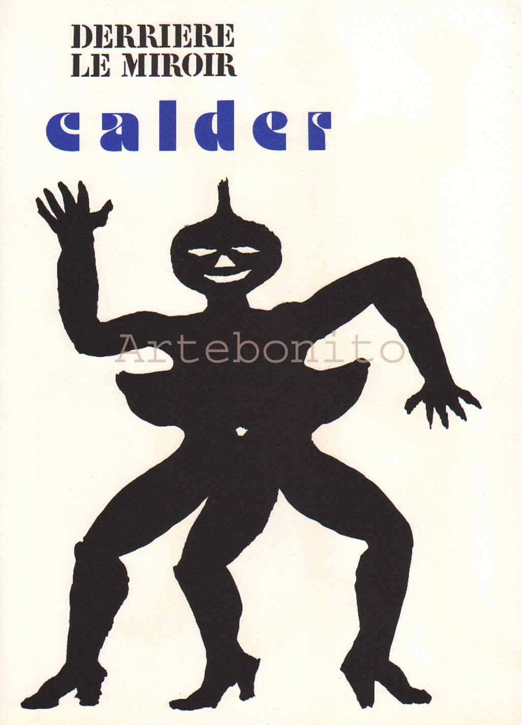 Alexander Calder, original Lithograph, DM15212, Derriere le miroir 1975