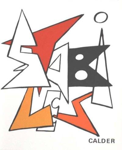 Calder Original Lithograph DM10141 printed 1963