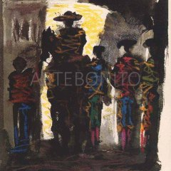 "Picasso ""Toros y toreros dated 8/7/59""-1961"