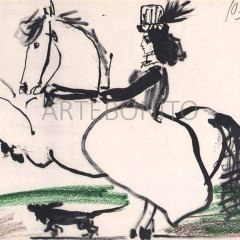 Picasso, Toros y toreros 11 dated 10/3/59
