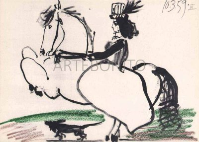 Picasso, Toros y toreros 11 dated 10/3/59