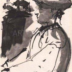 Picasso, Toros y toreros 3 dated 13/7/59