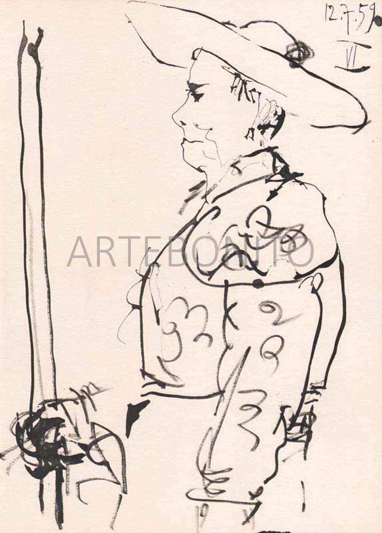 Picasso Toros Y Toreros, No. 6 dated 12/7/59