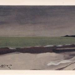 """Braque """"Bord de mer 1952"""" Lithograph 1968"""
