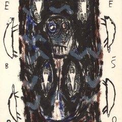 "Helene Delprat Original Lithograph ""N6-2"" printed 1988"