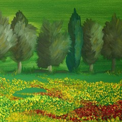 "Absi Grace, ""Field of poppies"""