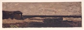 """Braque """"La plage de Varengeville 1938"""" Lithograph 1968"""