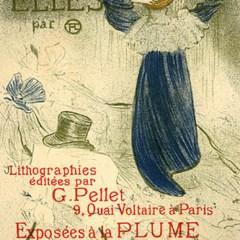 """Lautrec Henri de Toulouse, """"Elle"""""""