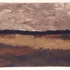 """Braque """"Les Champs et Ciel bas"""" Lithograph printed 1968"""