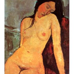 "Amedeo Modigliani ""Seated nude 2"" L.E & numbered Giclee"