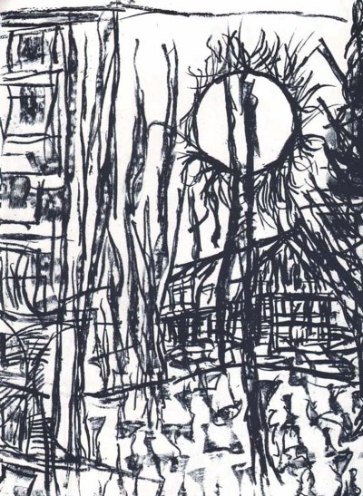 "Riopelle Jean-Paul Original Lithograph ""DM 12232"""