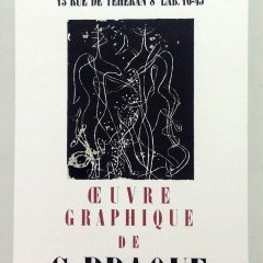 "Braque 2 ""Oeuvre Graphique"" Mourlot 1959 Art in posters"