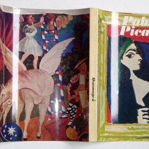 Book Homage to Picasso XX Siecle, Original Lithograph +Linocuts