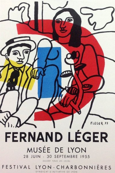Fernand Leger Lithograph, Mourlot