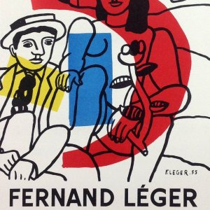 Leger 36, Lithograph for Expo 1956, Mourlot