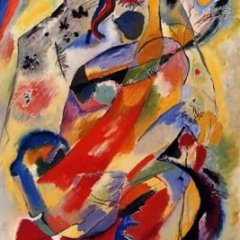 "Kandinsky ""Panel 1""L.E & numbered Giclee"