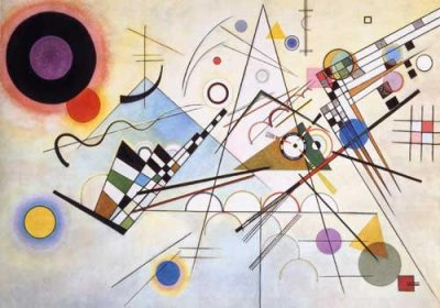 "Kandinsky ""Composition 8"" L.E & numbered Giclee"
