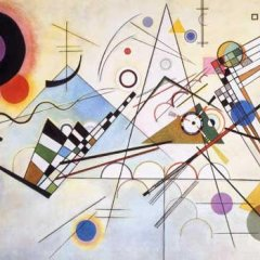 Wassily Kandinsky Composition 8, Giclee Limited Edition