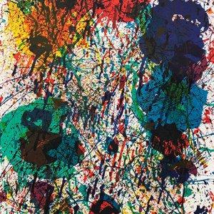 "Francis Original Lithograph Poster "" Composition 1983"""