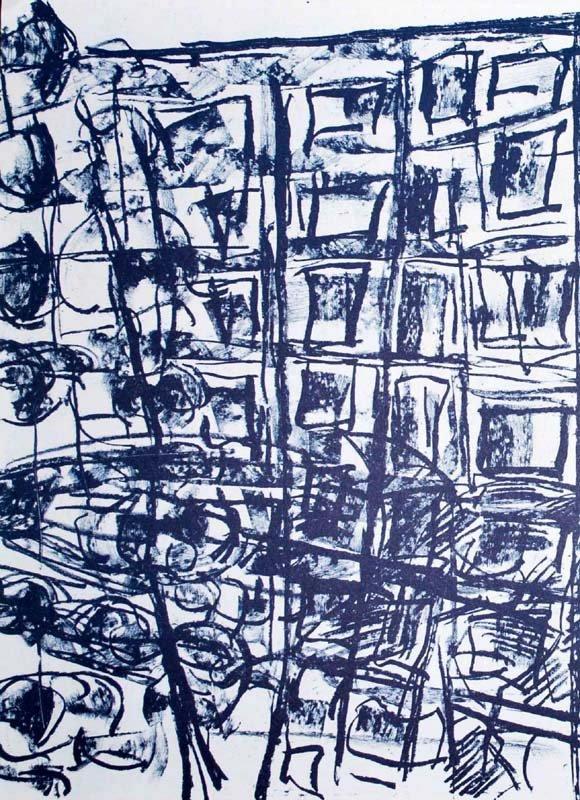 "Riopelle Jean-Paul Original Lithograph ""DM17232"""